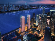 杭州上城钱江新城越秀维多利中心楼盘新房真实图片