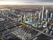 西安高新中央创新区中海·寰宇天下楼盘新房真实图片