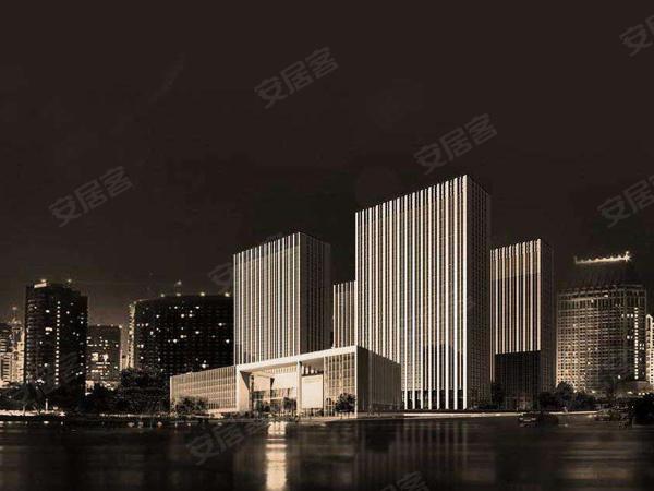 杭州东部国际商务中心商铺楼盘建筑物外景