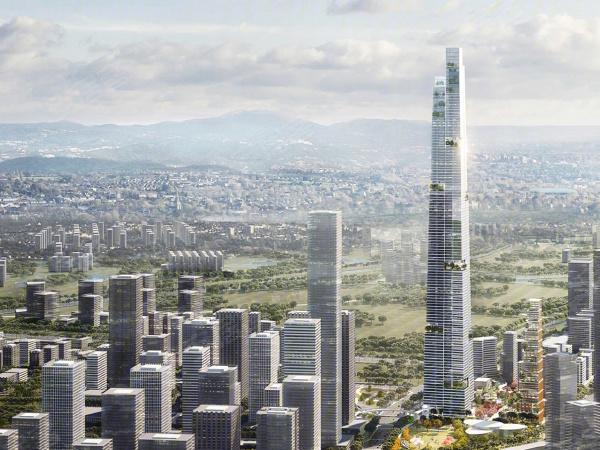 中海天府里樓盤建筑物外景