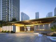 大连开发区小窑湾金湾璟和天第楼盘新房真实图片