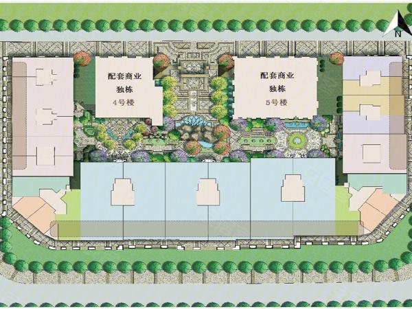 中海枫丹公馆写字楼楼盘建筑物外景