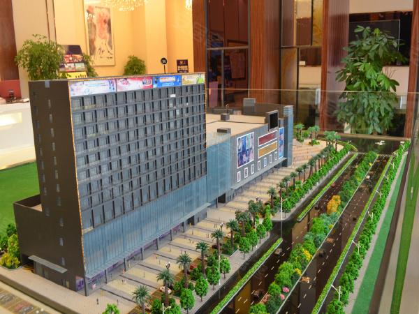 腾大时代广场领寓规划沙盘
