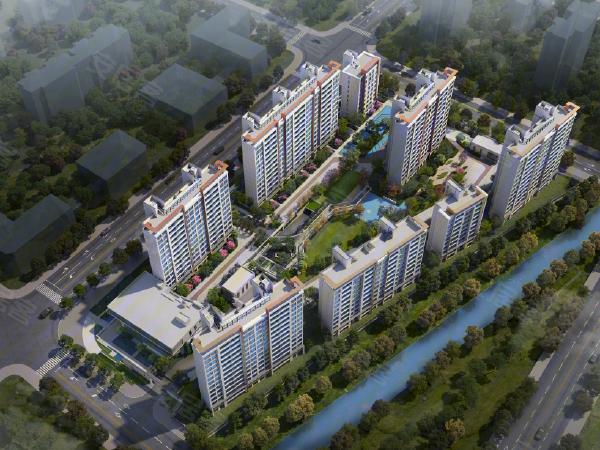 云湖漫城全景图