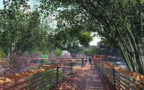 开创情景式公园商业先河 43.2%的绿化,打造宜居氧气住宅