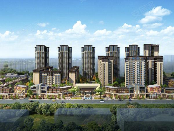 成锦熙锦5号楼盘建筑物外景