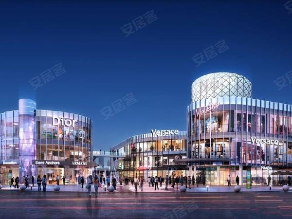 新世界欢乐城楼盘建筑物外景