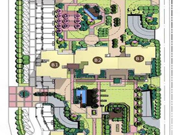 森林小筑规划图