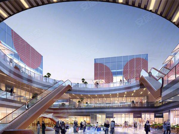 上海新环广场楼盘建筑物外景