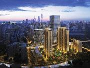 上海静安上海火车站金融街融府楼盘新房真实图片