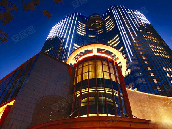 艾格美国际公寓楼盘建筑物外景