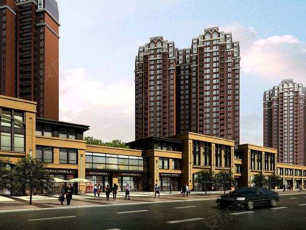 中房学府海棠中房学府海棠效果图,项目的沿街商业为业主提供基本的生活配套。