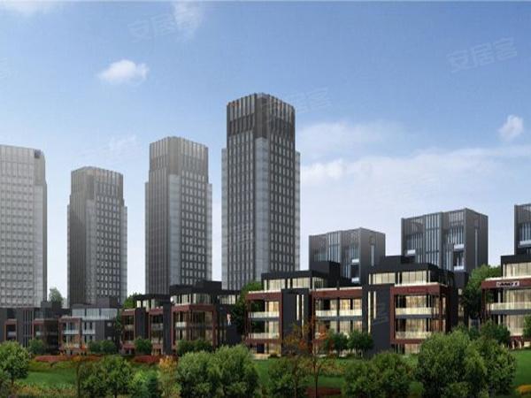 重庆车联网科技产业园楼盘建筑物外景