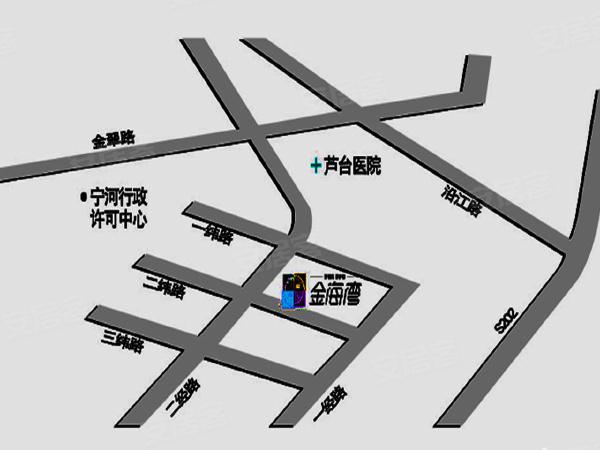 金海湾公寓楼盘区位规划