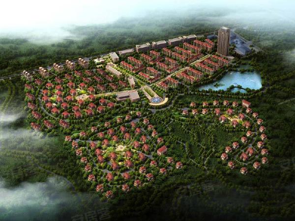 青云林海项目整体规划效果图