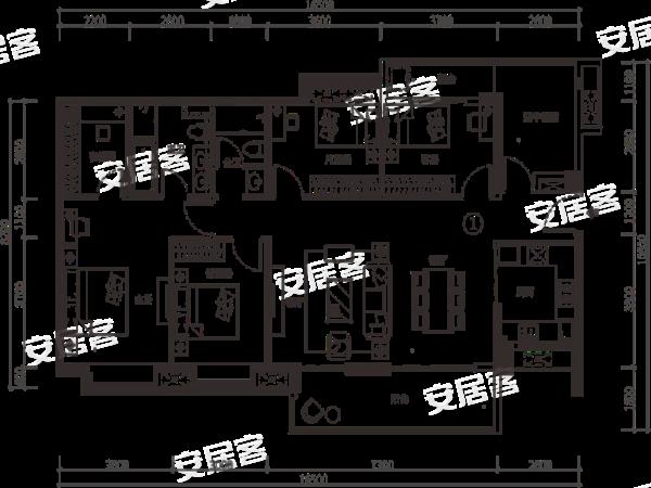 海伦堡青云台全景图