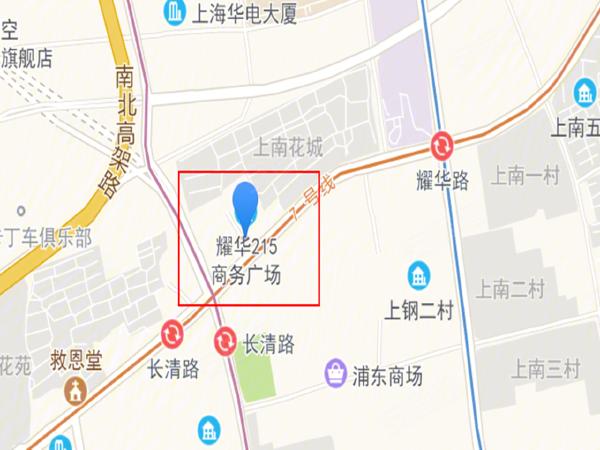 耀华215商务广场楼盘区位规划