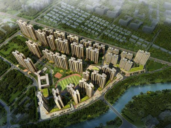 珠江四季悦城楼盘建筑物外景
