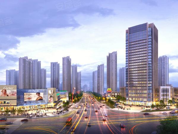 明发国际城楼盘建筑物外景