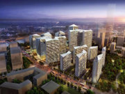 上海浦东前滩晶耀前滩楼盘新房真实图片