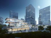 绍兴镜湖新区镜湖新区HFC华发金融活力城楼盘新房真实图片