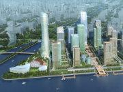 杭州上城钱江新城中海御道楼盘新房真实图片