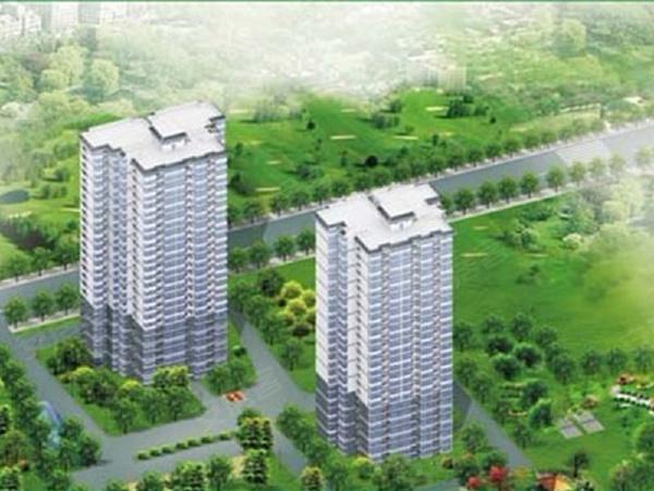 达成馨苑项目规划两幢高层房源
