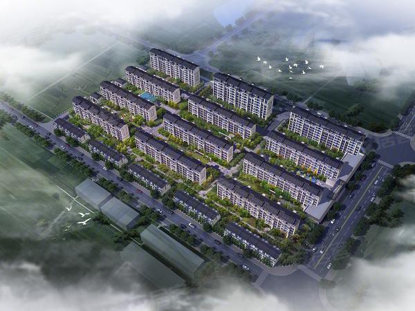 龙光西塘江南大境楼盘建筑物外景