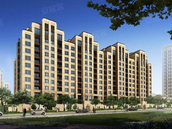 曲江华著中城项目沿街楼栋效果图展示