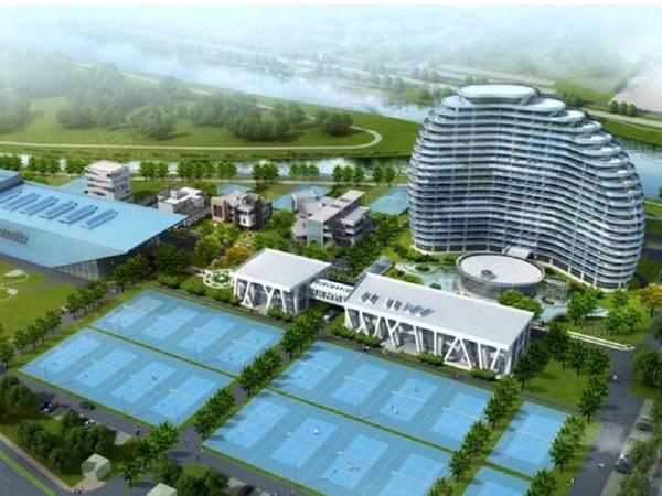 恒搏网球小镇全景图