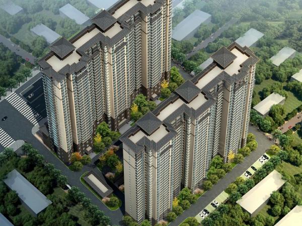 风和庭院项目规划为两幢高层房源。