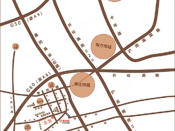 龙祥御院楼盘区位规划