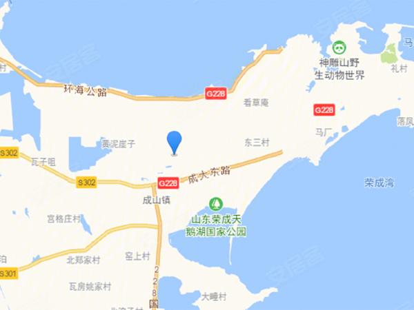 海韵居度假村楼盘区位规划