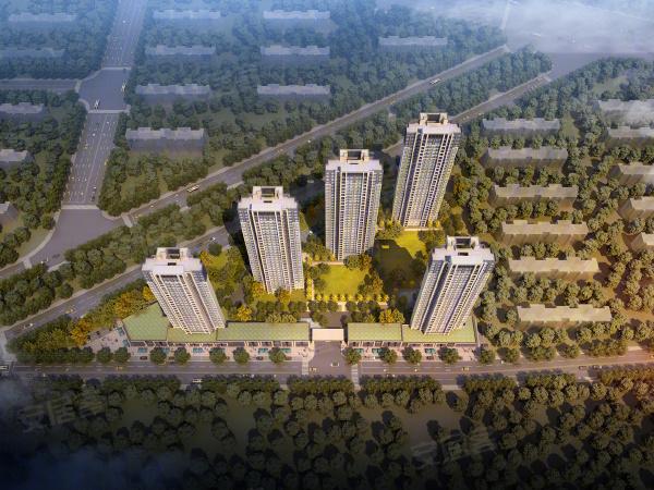 朗诗未来街区楼盘建筑物外景