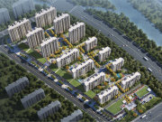 青岛胶南市滨海大道和达可园楼盘新房真实图片