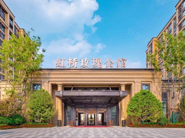 葛洲坝融创虹桥玫瑰公馆全景图