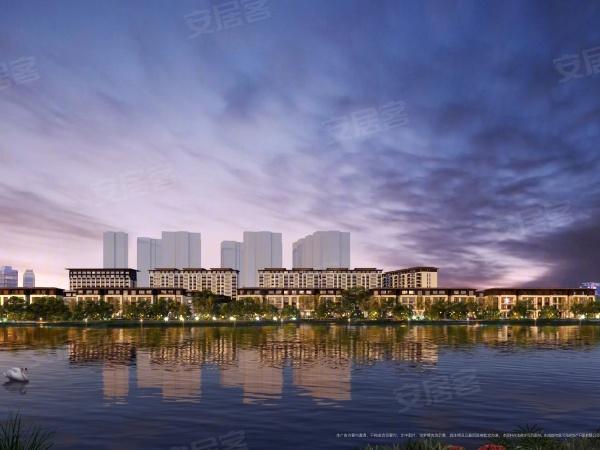 中洲锦城湖岸楼盘建筑物外景