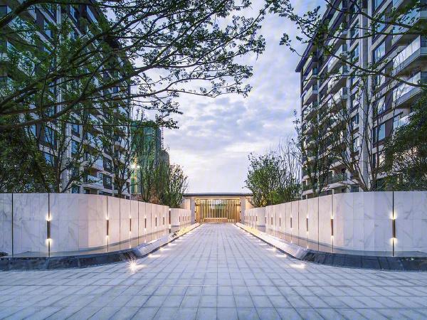 中南樾府樓盤建筑物外景