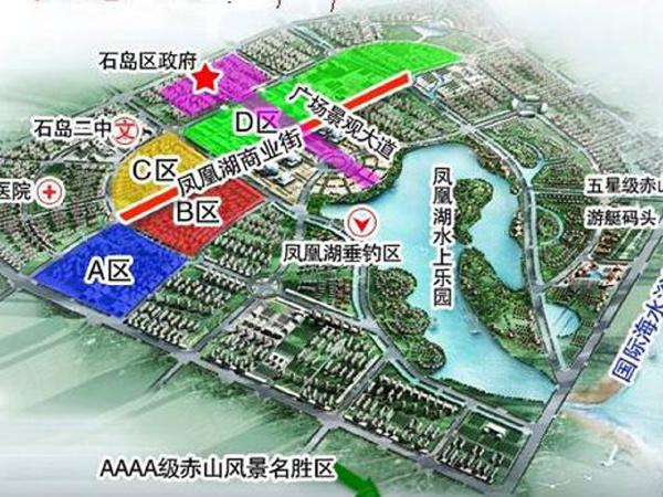 凤凰湖小区楼盘区位规划