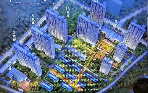 祥生东方樾是成吉思汗大街上亮丽的一道风景线。