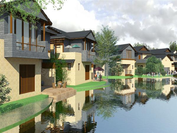 长泰海滨城全景图