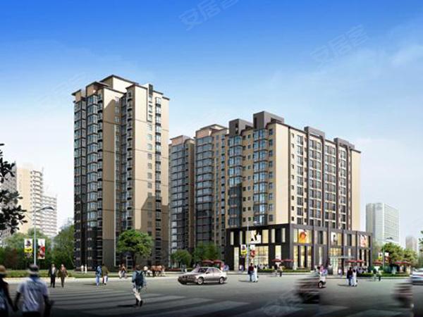 景都项目共4栋高层,为板塔相结合楼盘。