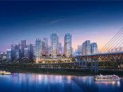 重庆江北江北嘴世茂城市之门楼盘新房真实图片