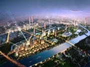 上海嘉定安亭绿地海域苏河源楼盘新房真实图片