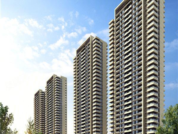 蓝色康桥K区·朗润园三期楼盘建筑物外景
