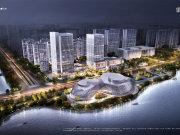杭州钱塘金沙湖望钱塘印中心楼盘新房真实图片