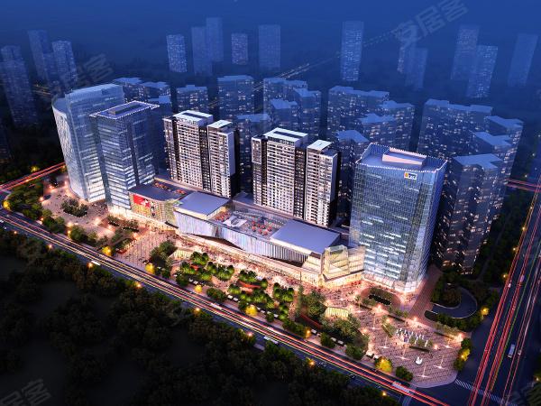 誉峰M5楼盘建筑物外景