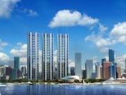 大连中山东港新区绿地·达沃斯公馆楼盘新房真实图片
